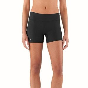 Under Armour Black Compression Skimming Shorts